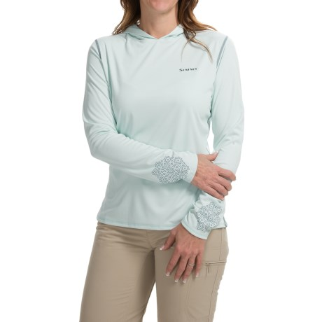 Simms SolarFlex Hoodie Shirt UPF 50+, Long Sleeve (For Women)