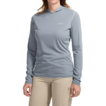 Simms SolarFlex Hoodie Shirt - UPF 50+, Long Sleeve (For Women) in Storm Cloud - Closeouts
