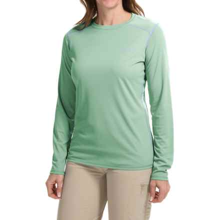 Simms SolarFlex Shirt - UPF 50+, Long Sleeve  (For Women) in Celery - Closeouts