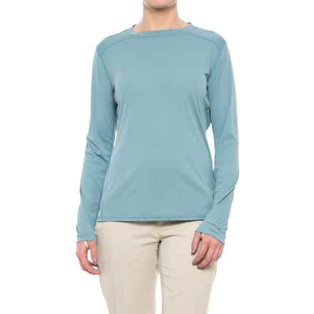 Simms SolarFlex Shirt - UPF 50+, Long Sleeve  (For Women) in Comet - Closeouts