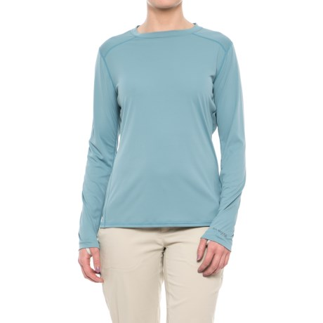 Simms SolarFlex Shirt - UPF 50+, Long Sleeve  (For Women) in Comet