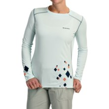 Simms SolarFlex Shirt - UPF 50+, Long Sleeve  (For Women) in Frost - Closeouts