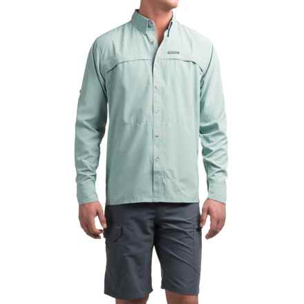 Simms Stone Cold Shirt - UPF 30, Long Sleeve (For Men) in Heron - Closeouts