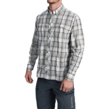 Simms Stone Cold Shirt - UPF 30+, Long Sleeve (For Men) in Moonstone Plaid - Closeouts