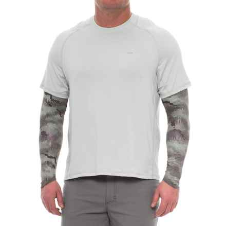 Simms SunSleeves - UPF 50 (For Men and Women) in Hex Camo Boulder - Closeouts