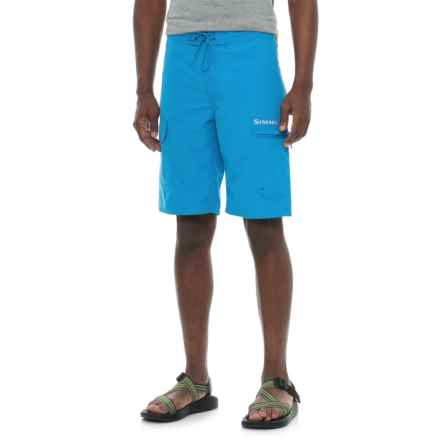 Simms Surf Shorts - UPF 50+ (For Men) in Blue Harbor - Closeouts
