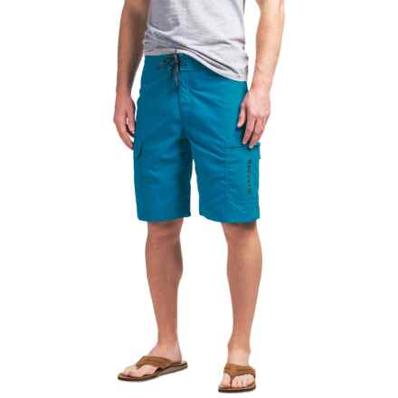 Simms Surf Shorts - UPF 50+ (For Men) in Current - Closeouts