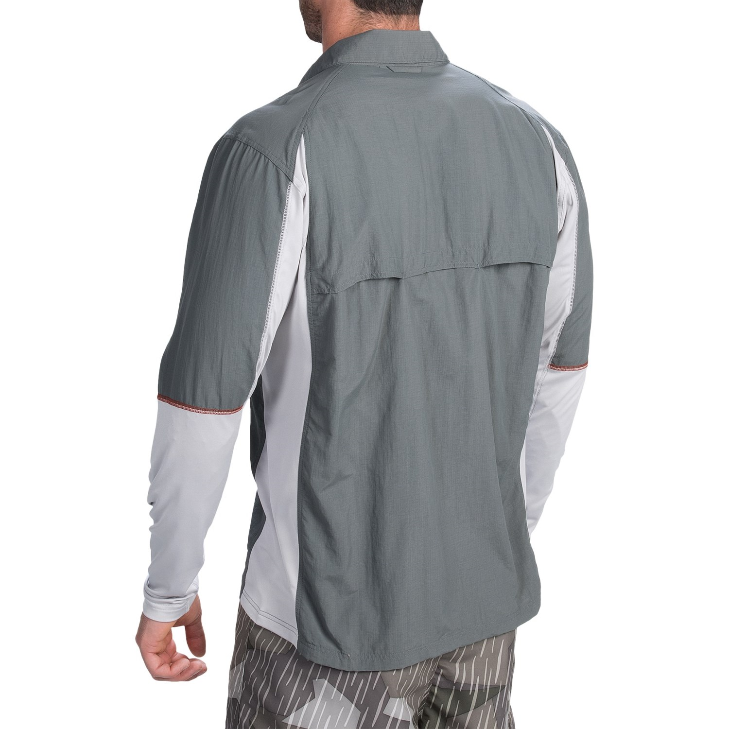simms taimen tricomp fishing shirt for men 104vf save 46