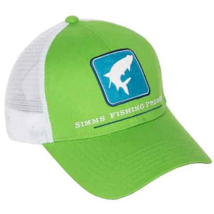 Simms Tarpon Trucker Cap in Seagrass - Closeouts