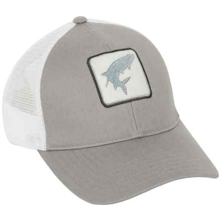 Simms Tarpon Trucker Hat in Boulder Plain - Closeouts