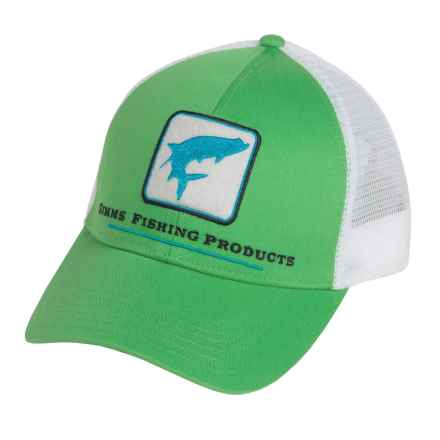 Simms Tarpon Trucker Hat in Shamrock - Closeouts