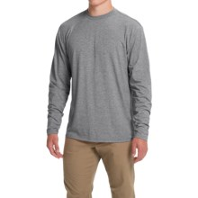 Simms Tech T-Shirt - UPF 20+, Long Sleeve (For Men) in Charcoal - Closeouts
