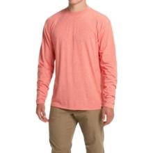 Simms Tech T-Shirt - UPF 20+, Long Sleeve (For Men) in Chili - Closeouts