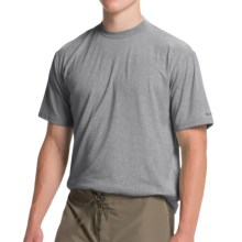 Simms Tech T-Shirt - UPF 20+, Short Sleeve (For Men) in Charcoal - Closeouts
