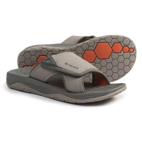 Simms Transit Slide Sandals (For Men) in Mineral