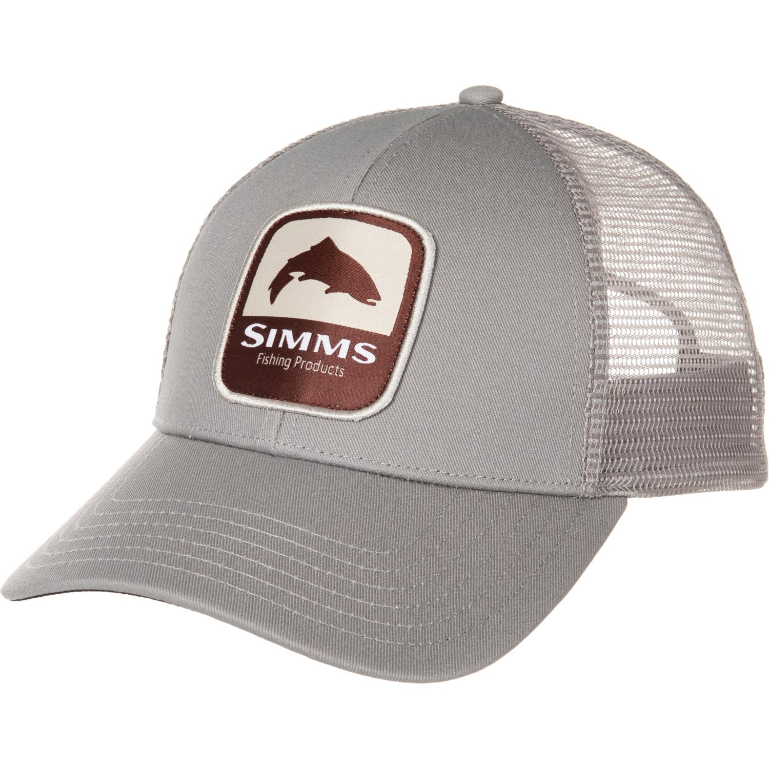 cd91a1d0e Simms Trout Patch Trucker Hat (For Men) in Boulder ...