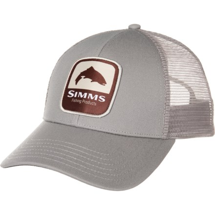 40ec0fa2d583eb Simms Trout Patch Trucker Hat (For Men) in Boulder