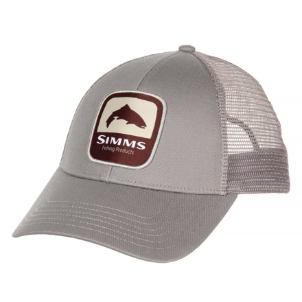 deee36b0 Simms Trout Patch Trucker Hat (For Men) in Boulder - Closeouts