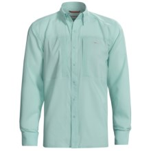 Simms Ultralight Fishing Shirt - UPF 30+, Long Sleeve (For Men) in Ice Blue - Closeouts