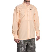 Simms Ultralight Shirt - UPF 30+, Button Front, Long Sleeve (For Men) in Apricot - Closeouts