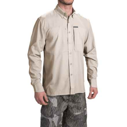 Simms Ultralight Shirt - UPF 30+, Button Front, Long Sleeve (For Men) in Putty - Closeouts