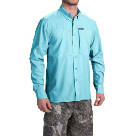 Simms Ultralight Shirt - UPF 30+, Button Front, Long Sleeve (For Men) in Sky Blue - Closeouts