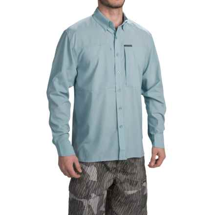 Simms Ultralight Shirt - UPF 30+, Button Front, Long Sleeve (For Men) in Slate Blue - Closeouts