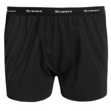 Simms Waderwick Boxers (For Men) in Black - Closeouts