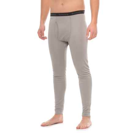 Simms Waderwick Core Base Layer Bottoms - UPF 30+ (For Men) in Boulder - Closeouts