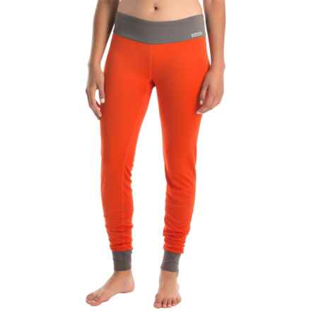 Simms Waderwick Core Base Layer Bottoms - UPF 30+ (For Women) in Poppy - Closeouts