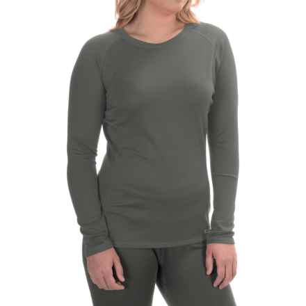 Simms Waderwick Core Base Layer Shirt - UPF 30+, Crew Neck, Long Sleeve (For Women) in Iron - Closeouts