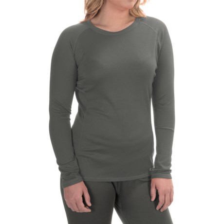 Simms Waderwick Core Base Layer Shirt - UPF 30+, Crew Neck, Long Sleeve (For Women) in Iron