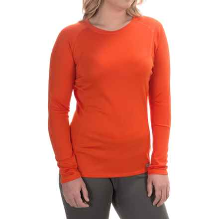 Simms Waderwick Core Base Layer Shirt - UPF 30+, Crew Neck, Long Sleeve (For Women) in Poppy - Closeouts