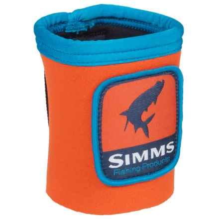 Simms Wading Koozy in Fury Orange - Closeouts