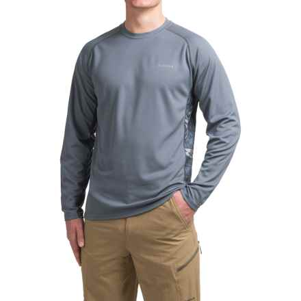 Simms Waypoint Shirt - UPF 50, Long Sleeve (For Men) in Tribal Wave Nightshade - Closeouts