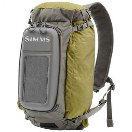Simms Waypoints 17L Sling Pack - Large in Army Green - Closeouts