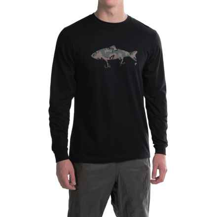 Simms Weapons of Bass Destruction T-Shirt - Long Sleeve (For Men) in Black - Closeouts