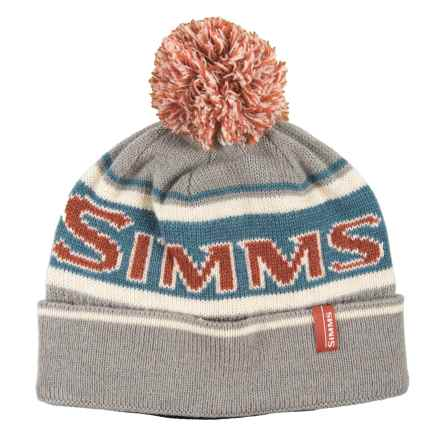 Simms Wildcard Knit Beanie (For Men and Women) in Boulder - Closeouts