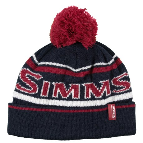 Simms Wildcard Knit Beanie (For Men and Women) in Dark Moon