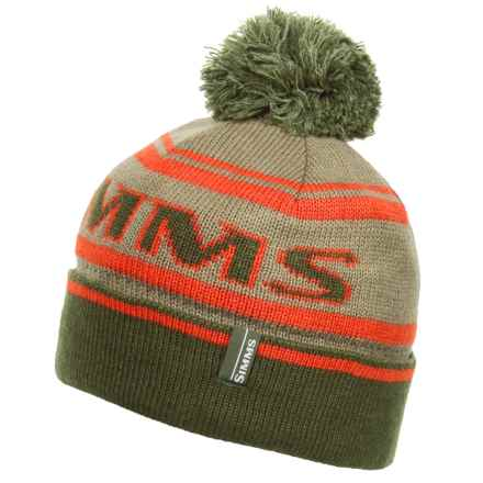 Simms Wildcard Knit Beanie (For Men and Women) in Loden - Closeouts