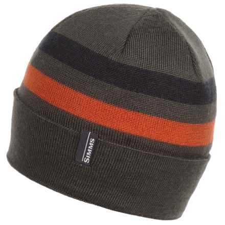 Simms Windstopper® Flap Cap (For Men and Women) in Coal - Closeouts