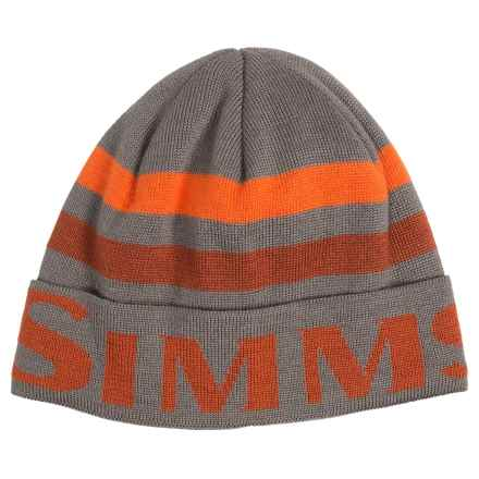 Simms Windstopper® Flap Cap (For Men and Women) in Cutthroat - Closeouts
