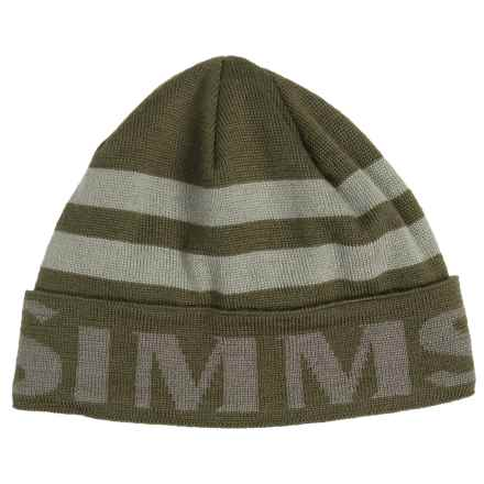 Simms Windstopper® Flap Cap (For Men and Women) in Loden - Closeouts