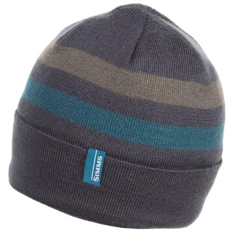 Simms Windstopper® Flap Cap (For Men and Women) in Nightfall