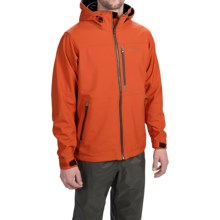 Simms Windstopper® Soft Shell Jacket (For Men) in Fury Orange - Closeouts