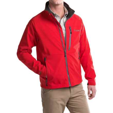 Simms Windstopper® Soft Shell Jacket (For Men) in Scarlet - Closeouts