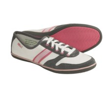 Simple Aloha! Denim Sneakers - Recycled Materials (For Women) in Snow White/Charcoal - Closeouts