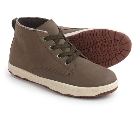 Simple Barney-91 Chukka Boots - Leather (For Men) in Flint