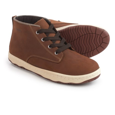 Simple Barney-91 Chukka Boots - Leather (For Men) in Tan