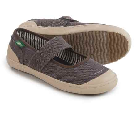 Simple Cactus Mary Janes Shoes (For Women) in Black - Closeouts